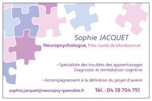 Sophie Jacquet Neuropsychologue Grenoble